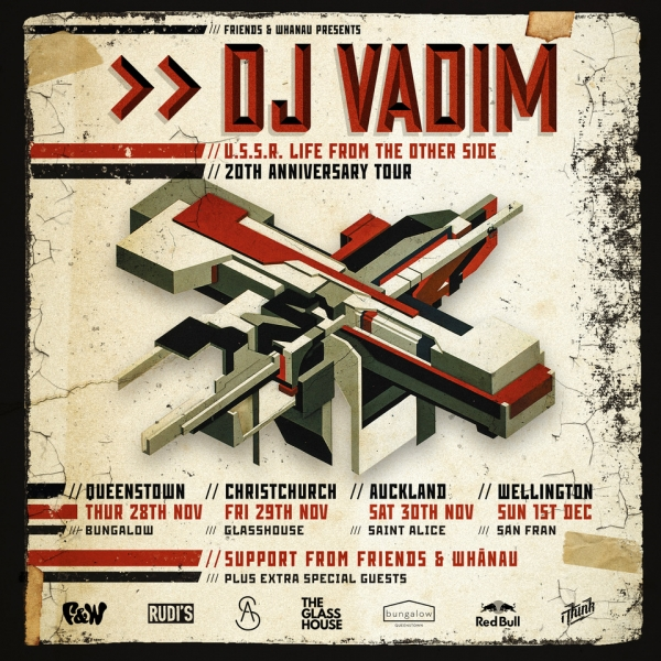 DJ Vadim Australia & New Zealand Tour